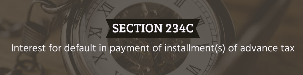 Interest for default in payment of instalment