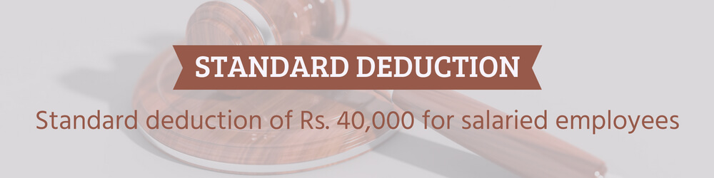 Standard deduction in India