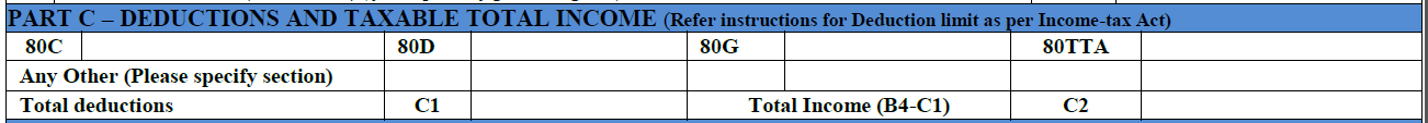 How to fill ITR-1 form 3