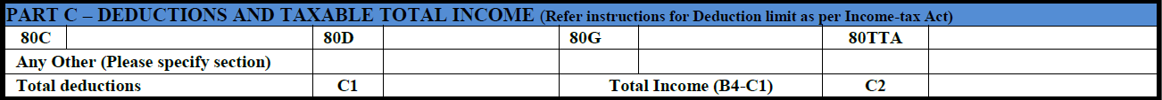 How to fill ITR-1 form details 3