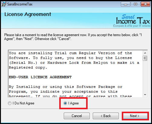 Software Installation guide for Saral IncomeTaxSaral TaxOffice 7
