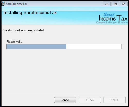 Software Installation guide for Saral IncomeTaxSaral TaxOffice 9