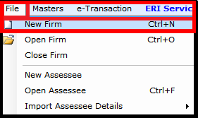 Steps for file Creation in Saral Income Tax software 1