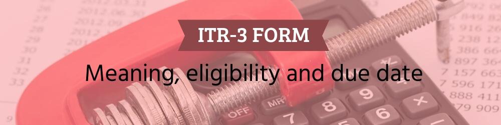 ITR-3 form