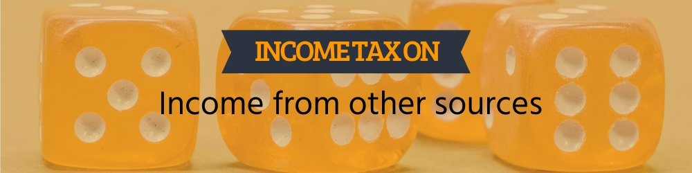 Income from other sources - rates, exemption, calculation
