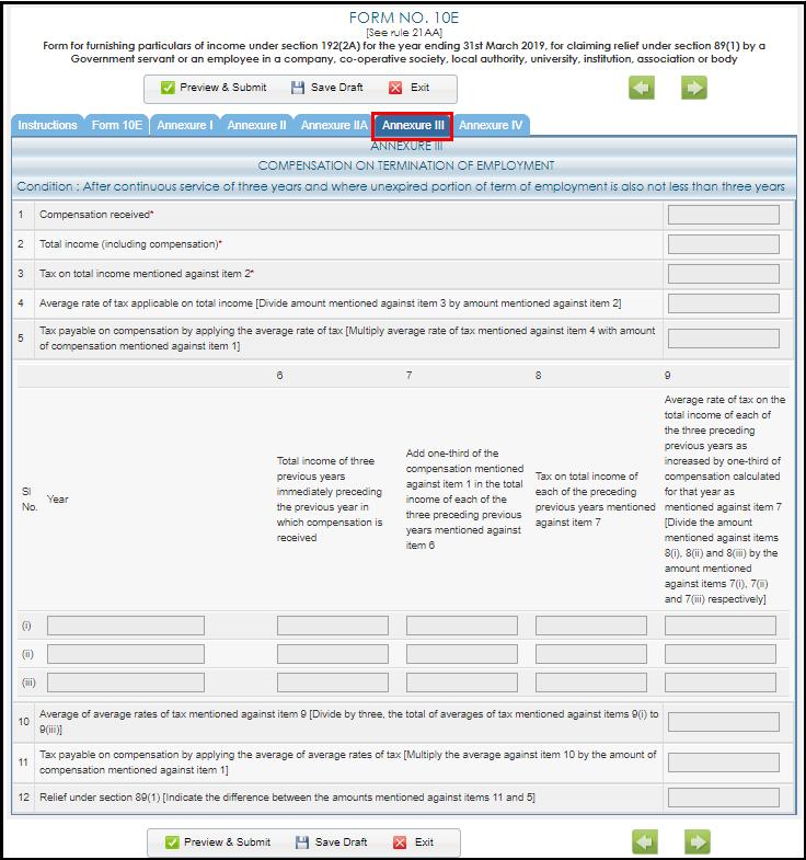 form 10e complete filing process 12