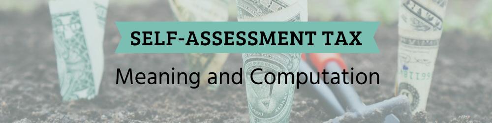Self Assessment Tax