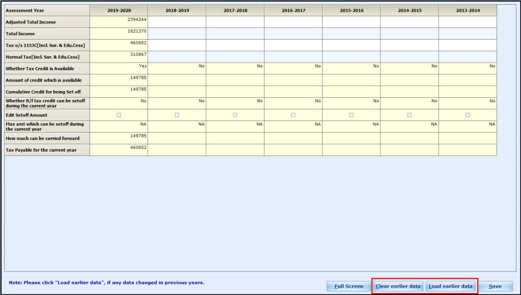Alternate Minimum Tax (AMT) in Saral Income Tax - 6Alternate Minimum Tax (AMT) in Saral Income Tax - 8