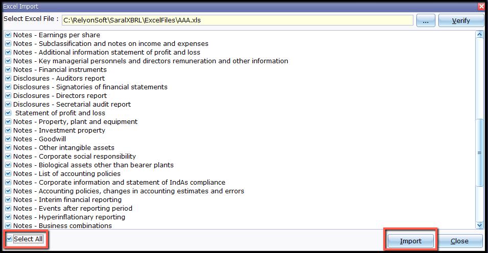 7.Excel Import- import